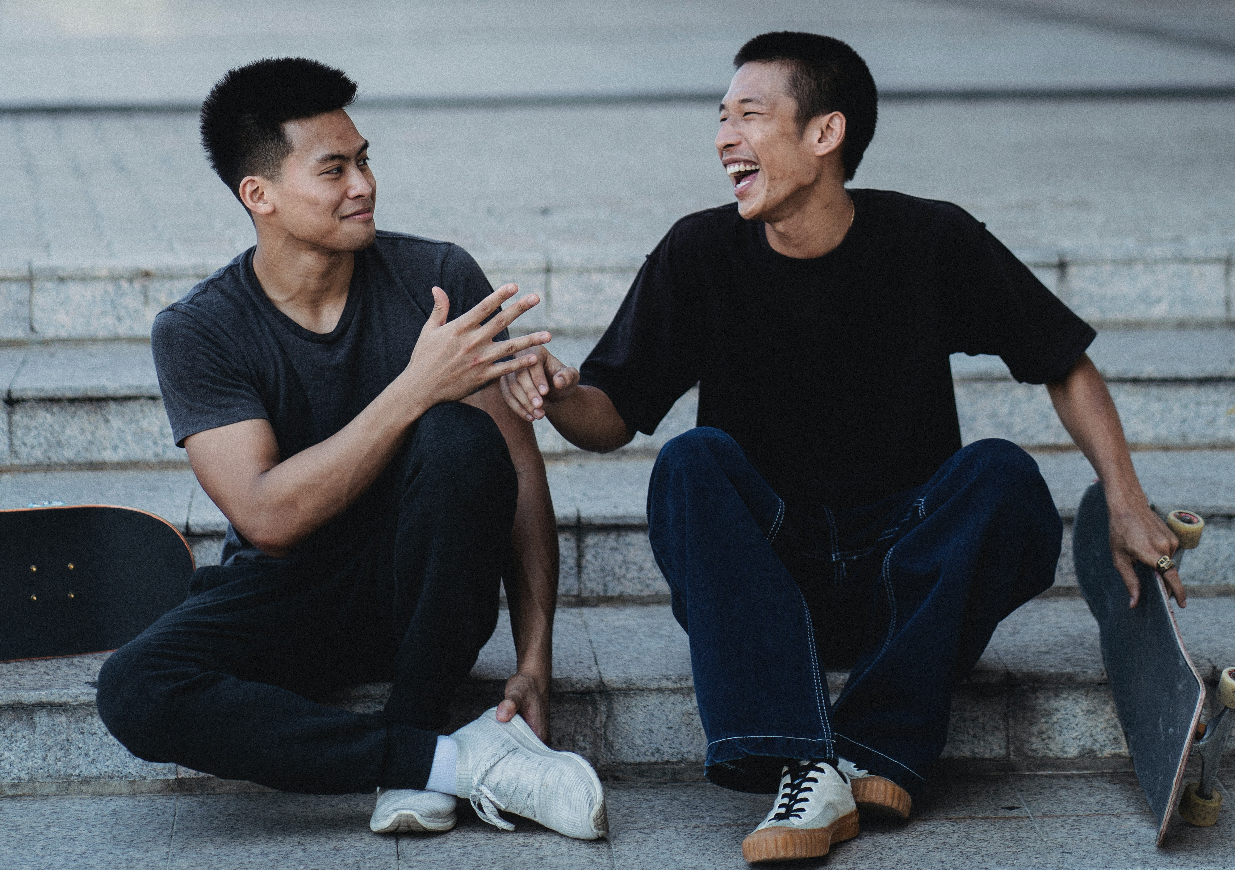 two asian guys